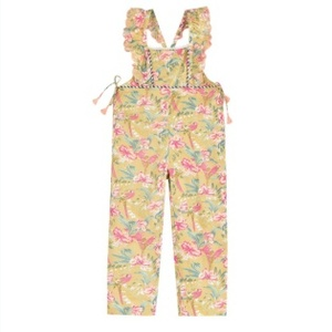 Louise Misha SS21_Overalls Talia Soft Honey Parrots / 루이스미샤 오버럴